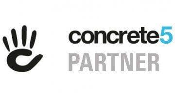 Vi har partnered op med Concrete5 i USA